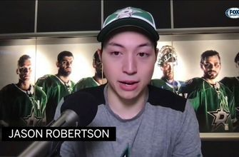 Jason Robertson on His Young NHL Experience | Stars Insider