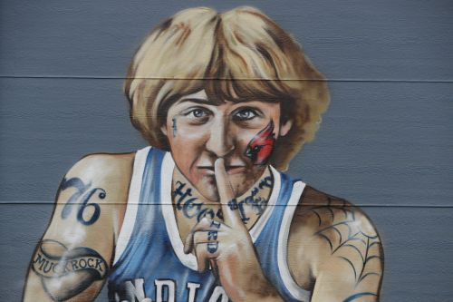 Artist will remove tattoos from Indianapolis mural of Larry Bird - except one