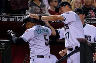Diamondbacks hit for the cycle in 3rd inning of win over Milwaukee