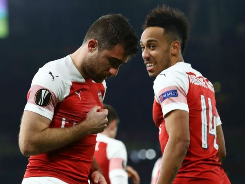 Arsenal 3 BATE 0 : Emery's men ease through