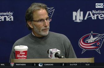 John Tortorella has a fun way of explaining the win over New York