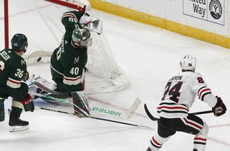 Zucker's OT goal gives Wild 4-3 comeback win vs. Blackhawks