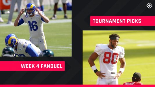 Week 4 FanDuel Picks: NFL DFS lineup advice for daily fantasy football GPP tournaments