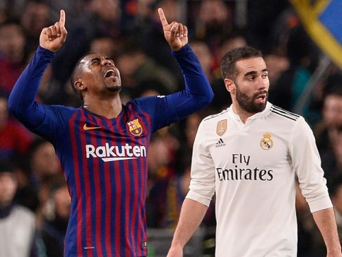 Malcom denies feeling pressure at Barcelona