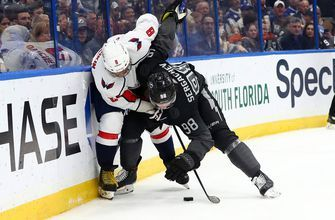Lightning have win streak curtailed with home loss to dominant Capitals