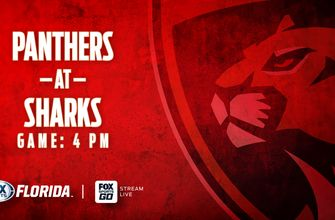 Preview: Panthers kick off road trip against Sharks