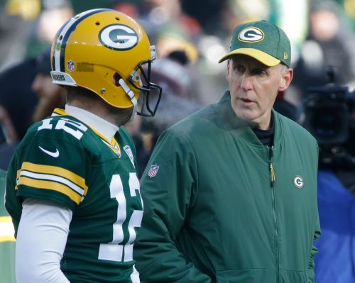 The Latest: Packers coach Philbin 0 for 2 on challenges