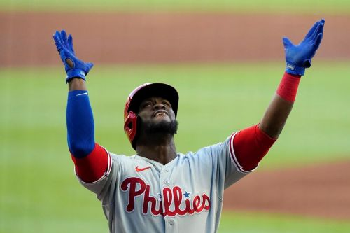 Phillies offence breaks out in 12-2 rout of Morton, Braves