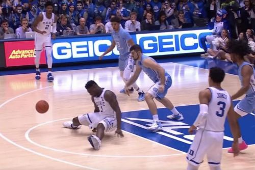 Watch: UNC knocks off rival Duke; Zion Williamson injured