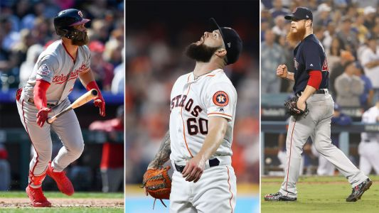 MLB hot stove: Phillies 'have visions' of signing Bryce Harper, Dallas Keuchel, Craig Kimbrel, report says