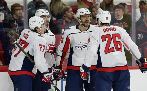 Ovechkin nets 2nd straight hat trick, Caps top Canes in SO