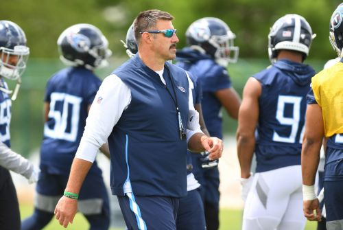 Titans coach Mike Vrabel says he'd 'probably' cut off his genitals for Super Bowl victory