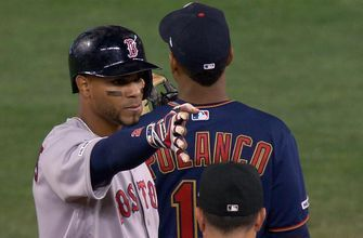 Bogaerts' RBI double in the 9th helps Red Sox top Twins 2-0