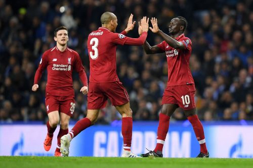 Champions League: Liverpool stroll past Porto to qualify for final four