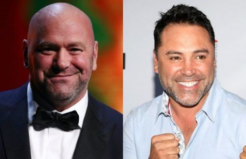 Dana White Calls Oscar De La Hoya an 'Idiot' and a 'Liar' a Bunch of Times on ESPN