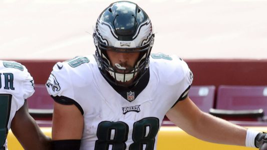 Is Dallas Goedert playing on Thursday night? Fantasy injury/COVID update for Buccaneers-Eagles Week 6 Thursday Night Football