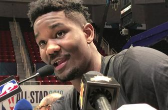 The Phoenix Suns' Deandre Ayton shares his favorite NBA All-Star Game memory