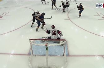 HIGHLIGHTS: Coyotes fall behind early, muster just 1 goal vs. Sabres