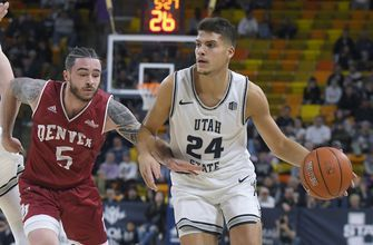 No. 17 Utah State routs Denver