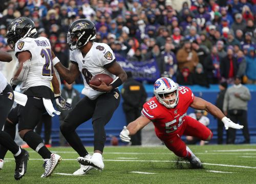 Bills defense held Ravens' Lamar Jackson in check last year but a lot has changed for NFL playoffs