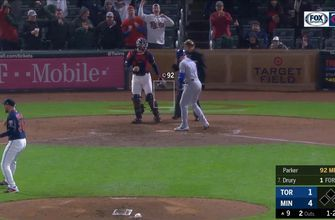 WATCH: Twins' Blake Parker gets the save with flawless 9th inning