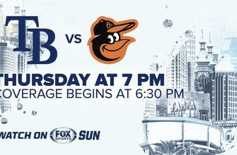 Preview: Rays look to sweep Orioles, pick up 4th straight win