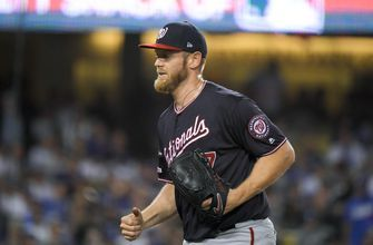 Strasburg starts for Nationals, up 2-0 on Cardinals in NLCS
