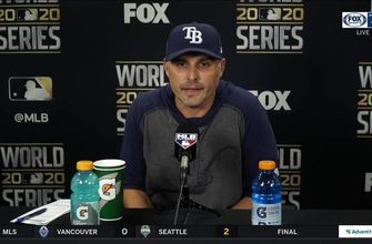 Kevin Cash breaks down Rays' season-ending loss to Dodgers to in Game 6 of World Series