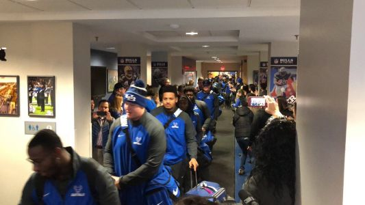 UB Bulls football embarks to Mobile for Dollar General Bowl