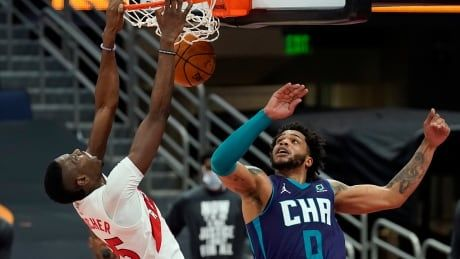 Boucher leads the way as Raptors pick up much-needed win over Hornets