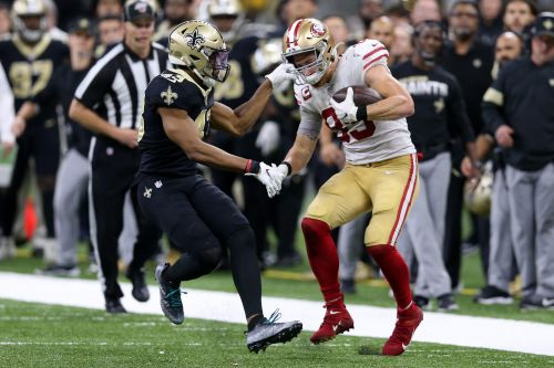 Does 49ers' George Kittle have a good luck charm?