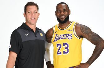 Skip Bayless on LeBron's relationship with head coach Luke Walton: 'LeBron will be the head coach'
