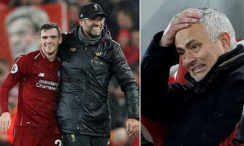 Jose Mourinho admits Man United can't cope with Liverpool's approach