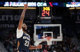 Davis scores 43 points, Pelicans tally to beat Knicks