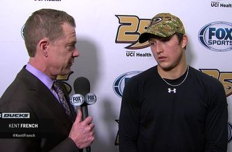 Brandon Montour says Ducks have 'resilience' following latest comeback win