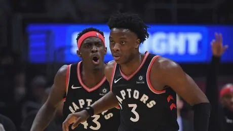 Raptors' Anunoby activated for Sunday night's Game 2