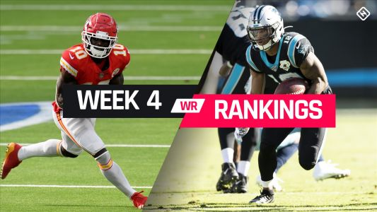 Week 4 Fantasy WR Rankings: Must-starts, sleepers, potential busts at wide receiver