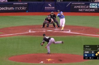 WATCH: Travis d'Arnaud smashes his first career grand slam in Rays' win