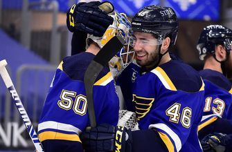 Blues snap seven-game skid with 3-1 win over Golden Knights