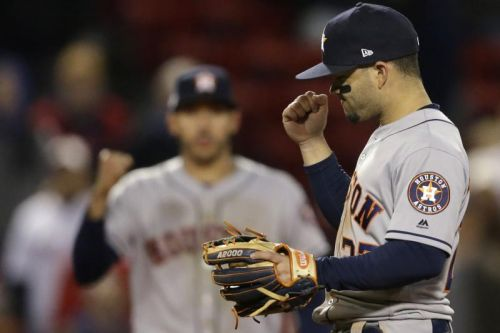 Astros trounce Red Sox for 1-0 lead in the ALCS