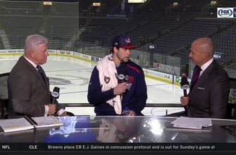 Josh Anderson thinks Blue Jackets are getting to where they want to be