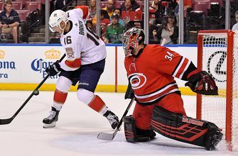 Penalties doom Panthers in 4-3 loss to Hurricanes