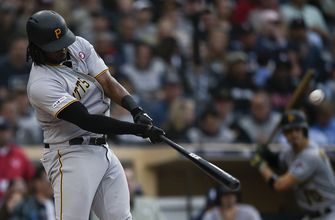 Bell hits 2 of Pirates' 4 homers in 7-2 win vs Padres