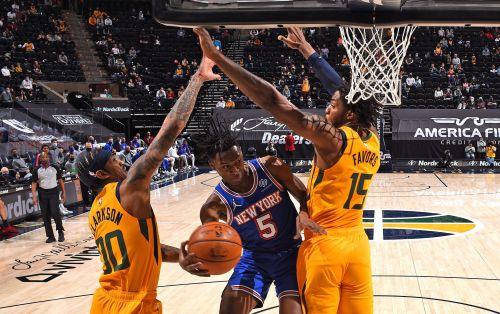 Knicks fade late in loss to Jazz to end road trip with dud