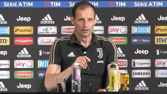 Juve must put Champions League disappointment behind them and win the Scudetto - Allegri