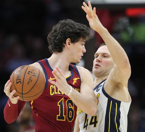Cedi Osman to miss Cleveland Cavaliers' game vs. Boston Tuesday; sprained ankle not considered serious