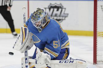 Jordan Binnington's 39 saves lead Blues past Lightning 4-3