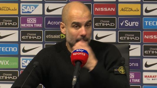 Guardiola heaps praise on goalscorer Jesus