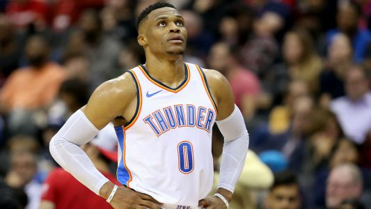 Russell Westbrook trade rumors: Thunder send star to Rockets for package including Chris Paul