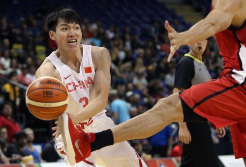 Canada sweeps China in men's basketball tuneup series
